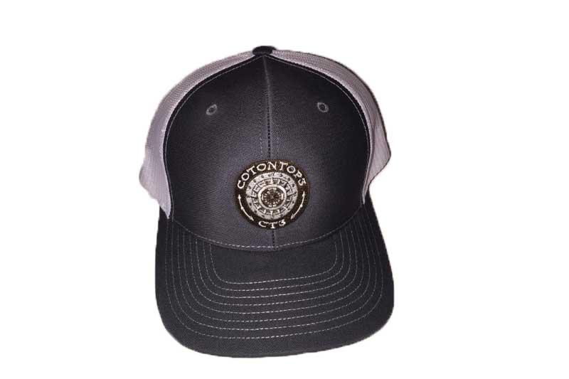 dc92053b87dec Cotontop3 Richardson Trucker Hat Charcoal White - COTONTOP3